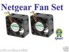 Quiet! Netgear Ready NAS 1100 Fan Set(2Fans) Replacement Parts 405-10001-01 RN11
