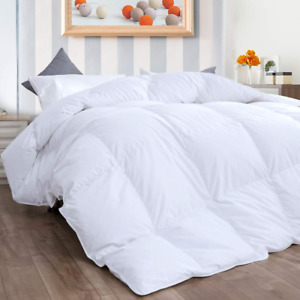 New Duvet Set All Season 100% Cotton Cover Duck Feather Down Filling 13.5 Tog