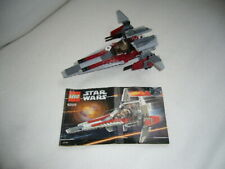 LEGO STAR WARS SETS NOS 6205, 7668 & 7654 with INSTRUCTIONS, but no boxes