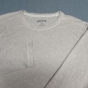 ORVIS SOFT RAYON POLY LONG SLEEVE SHIRT--XL--OUTSTANDING SPOTLESS QUALITY!