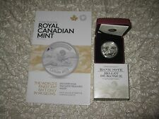 Canada 2013 $5 Fine Silver coin - Canadian Bank of Commerce coin - 1st in series