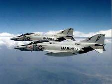 Military Air Plane Fighter Jet RF4B Phantom Marine Azul Marino cartel Art Print BB1098B