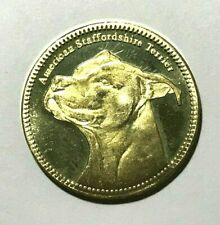 2019 Somaliland 5 shillings, Staffordshire Bull Terrier, dog animal coin