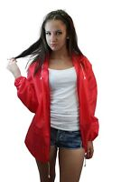Raincoat Womens Ladies Lightweight Kagoul Rain Coat Jacket Mac Kagool Cagoule