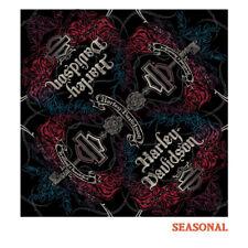 Harley-Davidson bandana, Blank bar & shield Key, señoritas, Black * ba 26983 *