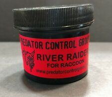 RIVER RAIDER RACCOON LURE PREDATOR CONTROL GROUP CLINT LOCKLEAR TRAPPING COON