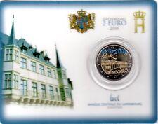 COIN CARD 2 EURO COMMEMORATIVO LUSSEMBURGO 2016 Ponte Granduchessa Charlotte
