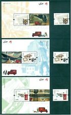 PORTUGAL 2020 EUROPA / ANCIENT POSTAL ROUTES 3 STAMPS+3 BLOCKS MNH ISSUED 05/25