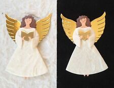5 Angels angel Mulberry Paper Singing Bible Christmas Church cards invitations