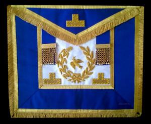 masonic regalia-CRAFT-CRAFT GRAND RANK DRESS APRON (LAMBSKIN) ANY RANK (NEW)