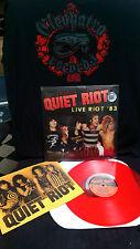 Quiet Riot Live Riot 83 Vinyl Mental Health Bang Your Head Cum on Feel The Noize