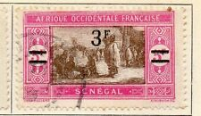 Senegal 1924-28 Early Issue Fine Used 3F. 054840