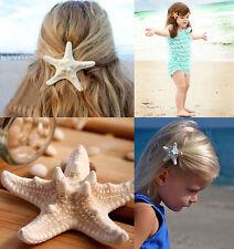 Womens Girls Fashion Elegant Pretty Starfish Sea Star Hairpin Hair Clip one HS89