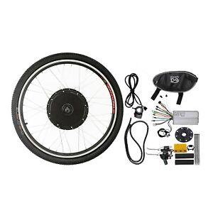 "E-bike Conversion Kit With Tire, 26"" 48V 1000W Rear Wheel Hub Motor Bicycle US"