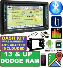 2013 & UP RAM DVD/CD/USB GPS NAVIGATION NAV SYSTEM BLUETOOTH CAR STEREO RADIO