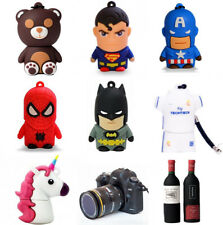 Pendrive USB 16GB Techonetech Batman, Superman, Capitan America, Spiderman