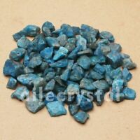 2.2LB Natural Raw Blue Apatite Rough Stones Crystal Gravel Rough Gemstone