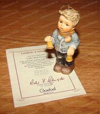 Little Bell Ringer Porcelain Ornament (Studio Hummel by Goebel, 96039) 1999