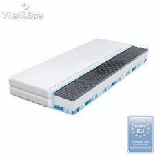 VitaliSpa® Marcas Confort Premium Colchón de Espuma de Gel 7 Zonas 140x200