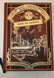 Jules Verne - Robur der Eroberer *Prachtausgabe Edition Hartleben