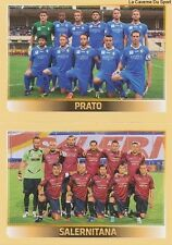 N°803 TEAM SQUADRA # PRATO SALERNITANA ITALIA CALCIATORI 2014 PANINI STICKER