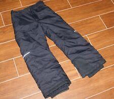 Boys Columbia Black Snow Ski Pant - Small - W/Out Grown System