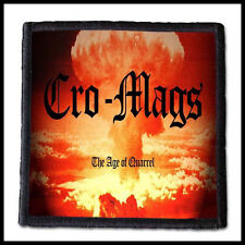 CRO-MAGS - The Age of Quarrel  ---- Patch / Aufnäher