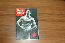 MAN'S WORLD #3 1955 VINTAGE MAGAZINE ART BEEFCAKE GAY MALE NUDE BODYBUILDING