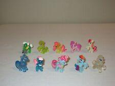 My Little Pony Blind Bag Mini Figures Lot of 10 Ponies  D
