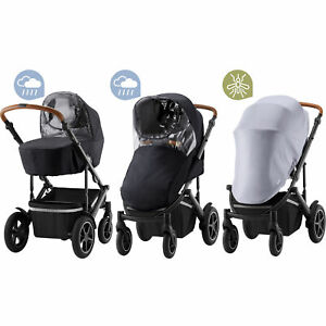 Britax Romer Weather Kit for SMILE III Pushchair 2 x Raincovers And Mosquito Net