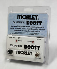 Morley MBB Buffer Boost Guitar Effects Pedal