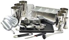 22pc Cocktail Shaker Mixer Set, Mixer Making Bar Kit Accessories, Gift Set