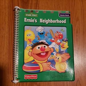 Fisher Price Power Touch Learning System Sesame Street Ernie's Neighborhood book