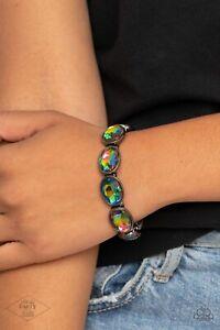 Paparazzi - Diva In Disguise - Multi Bracelet 🔥OIL SPILL🔥