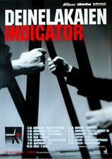 DEINE LAKAIEN - 2010 - Tourplakat - Concert - Indicator - Tourposter