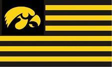 Iowa Hawkeyes 3x5 Feet Banner Flag University NCAA