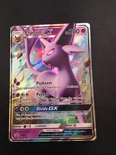 Espeon GX SM35 Full Art Promo Espeon GX - SM35 Pokemon Card RARE