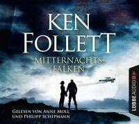 KEN FOLLETT - MITTERNACHTSFALKEN  5 CD NEW