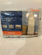 Nip - Mainstays - Over-The Door Ironing Board Cover & Pad - Standard Size Boards