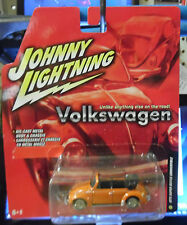 RARE 1975 VOLKSWAGEN SUPER BEETLE CONVERTIBLE  R5 JOHNNY LIGHTNING JL 1/64