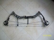 "2012 Quest Primal compound bow 29"" 70# with G-Fade camo pattern."