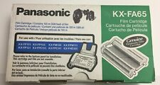 New Panasonic Kx-Fa65 Film Cartridge Upc 037988801862