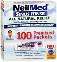 Sinus Rinse Refill Packets 100 Ea