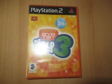 Ps2 / Sony PlayStation 2 Game - EyeToy Play 3 Without Camera Boxed