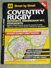 AA Street by Street road atlas of Coventry & Rugby - 2001 edition paperback