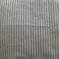 Grey French Ticking Fabric  Bolster Cushion  Cover - Stunning -New!