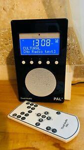 Beautiful Tivoli Audio Pal+ Portable FM/DAB+ BT Radio Black and White
