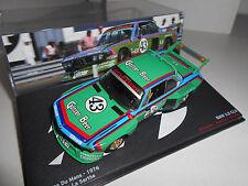 BMW 3.5 CSL 24 HORAS LE MANS 1976 ALTAYA IXO 1:43