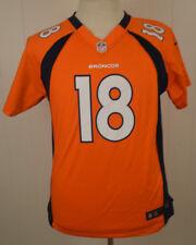 Nike Denver Broncos Jersey #18 Peyton Manning NFL Youth Extra Large 18-20 Orange