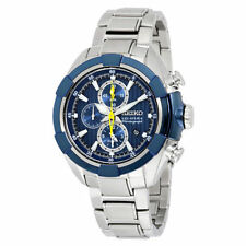 Stainless Steel Band Seiko Velatura Watches with Chronograph